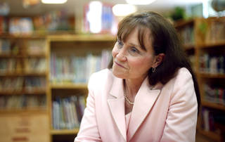 Carol Perry, shown here in 2011, is the principal at Rancho Village Elementary School. SARAH PHIPPS - SARAH PHIPPS, The Oklahoman