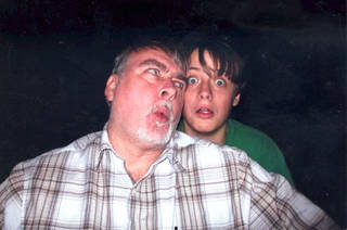 Uwe and Stefan Rushing The father and son were shot to death in January.