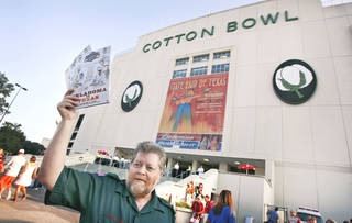 The OU-Texas game has been played continuously at the Cotton Bowl since 1929. PHOTO BY CHRIS LANDSBERGER, THE OKLAHOMAN