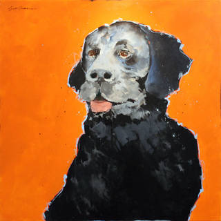 """Did Someone Say Dinner?,"" an acrylic on canvas by Bert Seabourn Photo provided Photo provided"