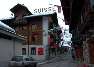 Champery, a founding village of Portes du Soleil, is an access point to the world's largest international ski resort between Switzerland and France. Photo courtesy of Athena Lucero.