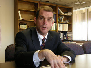 Oklahoma Health Commissioner Terry Cline. Photo by Oklahoma Watch PROVIDED