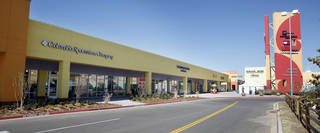 The previous expansion at The Outlet Shoppes included a Columbia Sports and Ann Taylor Loft. PAUL B. SOUTHERLAND - PAUL B. SOUTHERLAND