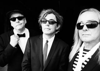 Cheap Trick are, from left, Rick Nielsen, Tom Petersson and Robin Zander. PHOTO PROVIDED.