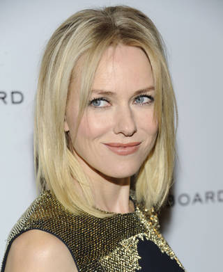 Naomi Watts AP PHOTO Evan Agostini