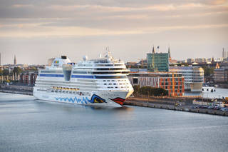 Many northern European cruise ports, such as this one in Copenhagen, are located near the center of the city. Photo provided by Cameron Hewitt