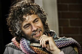Flaming Lips front man Wayne Coyne poses for a photo in the OPUBCO Studio on Tuesday, Dec. 15, 2009, in Oklahoma City, Okla Photo by Chris Landsberger, The Oklahoman