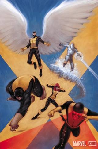 "The cover for ""X-Men: Season One."" Marvel Comics."