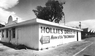 Hollie's Drive-In restaurant was a downtown favorite for decades. (Original photo taken 05/18/82, ran 05/20/82)