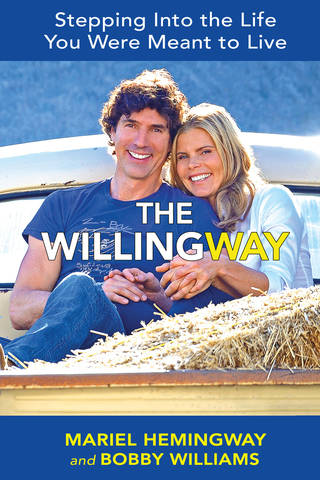 "Mariel Hemingway and her partner, Bobby Williams, have launched a new book on seizing your life called ""The Willing Way: Stepping Into the Life You're Meant to Live."" (Anne Cusack/Los Angeles Times/MCT)"