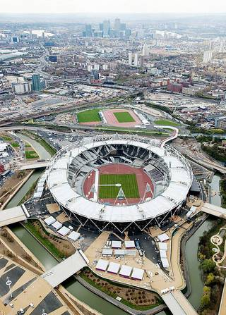 London's Olympic Stadium is at the center of the festivities this summer, including the opening and closing ceremonies. Photo courtesy of London 2012 Photo courtesy of London 2012