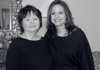 Mother and daughter, Andra Zwick, right, and Janee' Zwick, work together at Zwick & Associates staffing firm. - PROVIDED
