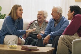 Dave Ramsey warns moving in with your in-laws may not be entirely rosy. Comstock