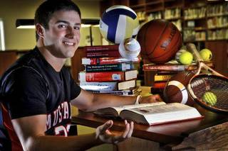 Scholar athlete David Glidden of Mustang High School poses for a photo at Heritage Hall Library on Tuesday, June 14, 2011, in Oklahoma City, Okla. Photo by Chris Landsberger, The Oklahoman ORG XMIT: KOD
