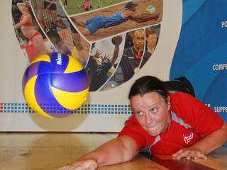 Great Britain sitting volleyball team member Martine Wright. PHOTO PROVIDED