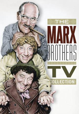 """""""The Marx Brothers TV Collection"""" features a wide variety of television appearances by the legendary comic brothers. (Shout! Factory)"""