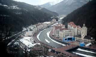 2353455 01/28/2014 Sochi prepares for the Winter Olympics.