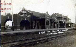 The Santa Fe Depot and Harvey House in Waynoka. Photo provided