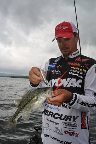 Oklahoma pro Jason Christie predicts a tight battle on the Arkansas River this week during the Bassmaster Central Open. Bassmaster Photo