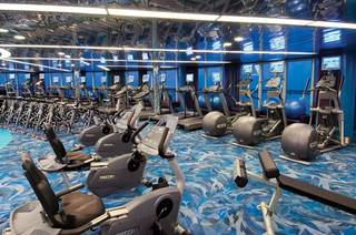 The gym. (Photo from Happy Frazier)