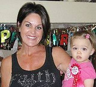 Julie Mitchell and her daughter London Provided