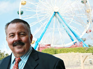 Gary Story at Frontier City in Oklahoma City in 2011. John Clanton - The Oklahoman