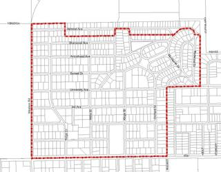 The Westwood Neighborhood Association in Stillwater is seeking stricter zoning regulations for the area shown on this map. The proposed regulations would prevent more than three unrelated people from living together in a house and create parking restrictions. ORG XMIT: kod