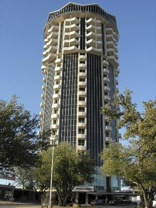 File photo of the United Founders Life Tower by Steve Lackmeyer