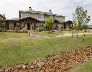 Johnston Builders has added townhomes to its Hawthorn addition near Hefner Road and N Pennsylvania Avenue in The Village. Steve Gooch - The Oklahoman