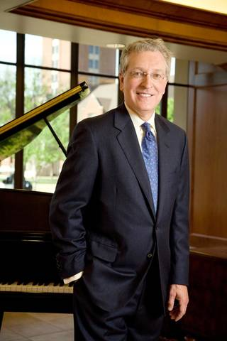 Oklahoma City University President Robert Henry says the school has a unique role to play in shaping the city's future. Photo Provided
