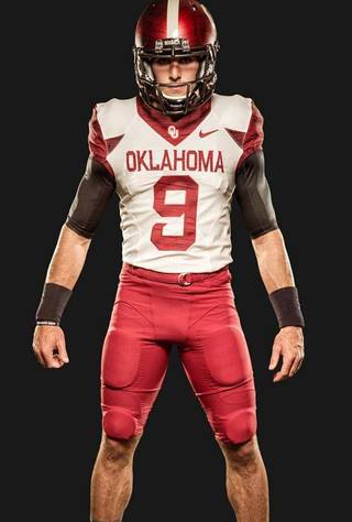 OU's 2014 home alternate uniforms. PHOTO VIA OU SPORTS INFORMATION