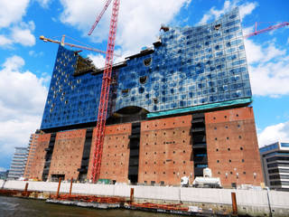 Hamburg's Elbphilharmonie concert hall is the crown jewel in the redevelopment of its old port district. Photo Rick Steves