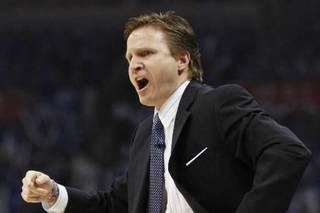 Scott Brooks is seen in this April 2010 AP photo.