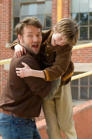 """Joel Edgerton, left, and CJ Adams play an unusual father-son pair in the Disney family feature """"The Odd Life of Timothy Green."""" Photo provided"""
