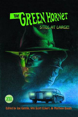 "The cover for the softcover edition of ""Green Hornet: Still at Large."" Moonstone."