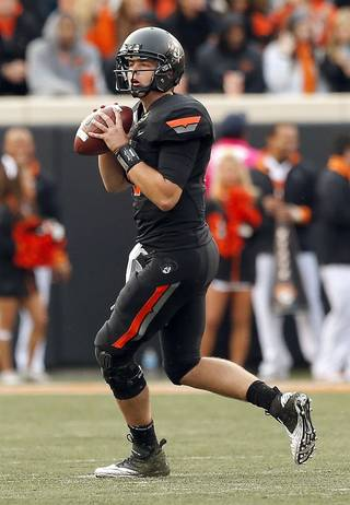 Former OSU quarterback Wes Lunt will transfer to Illinois according to multiple reports. PHOTO BY SARAH PHIPPS, The Oklahoman Archives SARAH PHIPPS