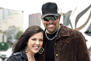 Krystal Keith and Toby Keith. Photo provided.