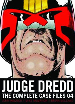 """Judge Dredd: The Complete Case Files 04."" Provided by Pocket Books"