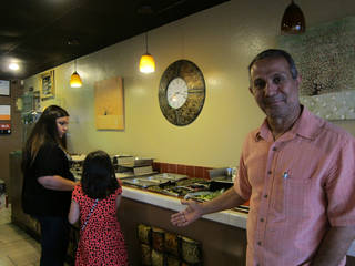 Yusef Al Yassin, owner of Zam Zam's, poses for a picture at his Mediterranean restaurant, 3913 N MacArthur, which offers a buffet that is particularly popular during the Islamic holy month of Ramadan. Photo by Carla Hinton, The Oklahoman