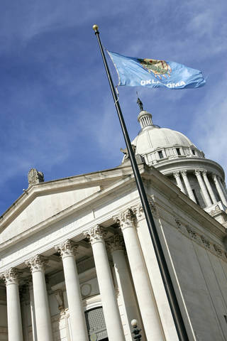 Oklahoma State Capitol building. The Oklahoman archive