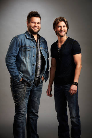 """From left, Zach and Colton Swon of """"The Swon Brothers"""" NBC PHOTO NBC"""