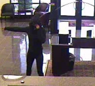 The FBI and Oklahoma City police released this surveillance photo Thursday following a bank robbery at IBC Bank, 12241 N May Ave. PHOTO PROVIDED BY FBI