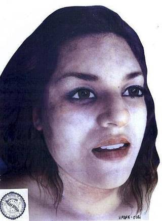 Anyone with information on this woman, found dead in a park on Feb. 14, is asked to call Noble police.