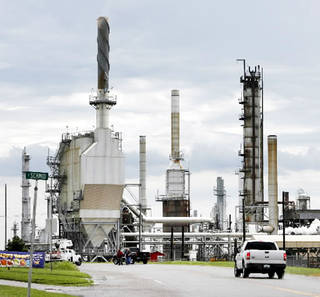 The oil refinery in Wynnewood is for sale along with the rest of parent company CVR Energy Inc. By Steve Sisney, The Oklahoman Archives