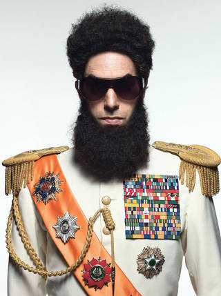 "Sacha Baron Cohen stars in ""The Dictator."" PHOTO PROVIDED"