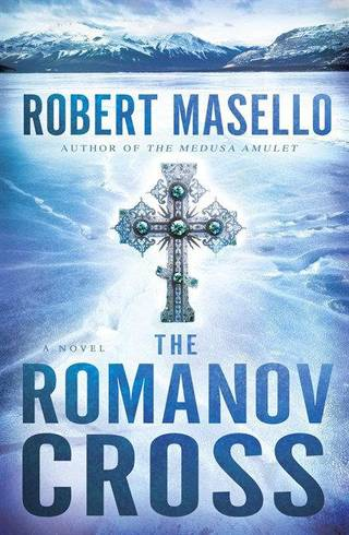"This book cover image released by Bantam shows ""The Romanov Cross,"" by Robert Masello. (AP Photo/Bantam)"