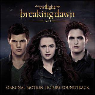 """This CD cover image released by Atlantic records shows the original motion picture soundtrack for """"The Twilight Saga: Brealing dawn Part 2."""" (AP Photo/Atlantic) ORG XMIT: NYET119"""