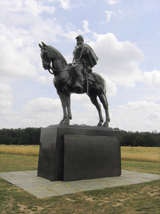 The Stonewall Jackson Monument. PHOTO BY RICK ROGERS, THE OKLAHOMAN