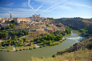 Lassoed by the Tajo River, well-preserved Toledo has been declared a national monument. Photo by Dominic Bonuccelli dominic arizona bonuccelli / azfoto.com