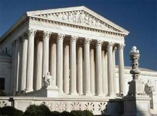 The U.S. Supreme Court building in Washington, D.C., is seen in this file photo.